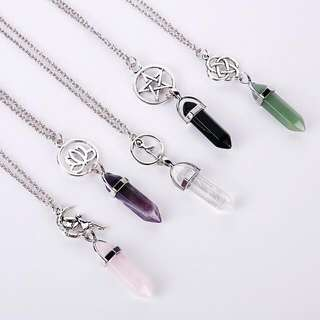 [PO] Crystal Stone Necklace