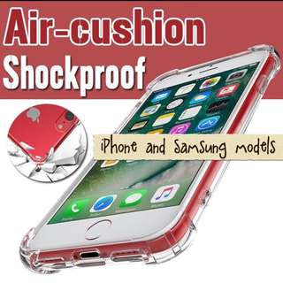 FREE Mailing iPhone Samsung OPPO TPU Clear Case Shell Cover