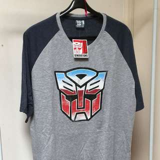 TRANFORMERS T-Shirt 4XL (Men Top or Ladies Nightie)
