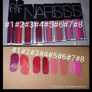 NARS Lippies