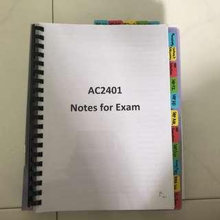 NTU AC2401 Bible