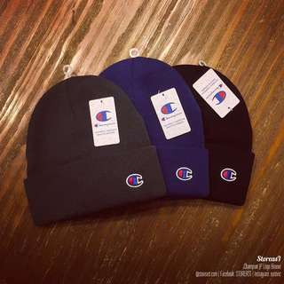 Champion Japan Basic Logo Beanie