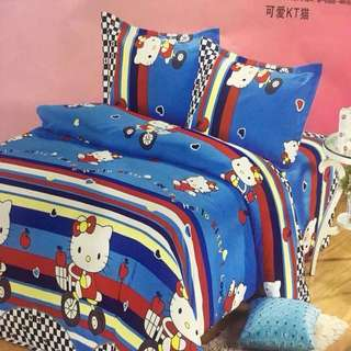 100% COTTON Comforter Set Bedsheets KING SIZE ONLY