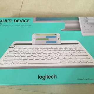 [全新未開封]Logitech K480 Keyboard