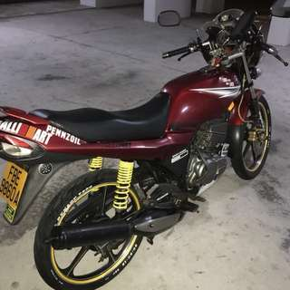 Use YAMAHA RXZ