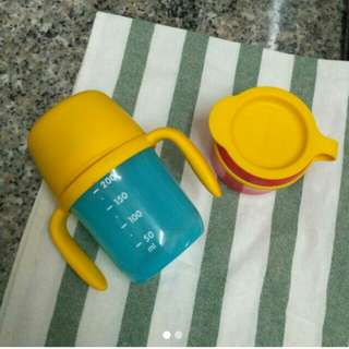 Tupperware Twinkle Training Cup & Snack Cup