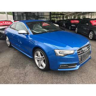 2012 Audi S5 Quattro Coupe 333HP - Unregistered