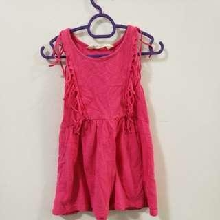 H&M dress pink