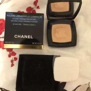Chanel Poudre Universelle Compacte Pressed Powder 30 Naturel