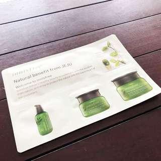 Innisfree Green Tea Mask + 3 Samples