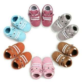 Newborn Baby Girl Boy First Walker Anti-slip Shoes