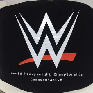 WWE World Heavyweight Commemorative Championship Title Belt
