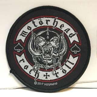 Motorhead - Rock + Roll Woven Patch Band Merch