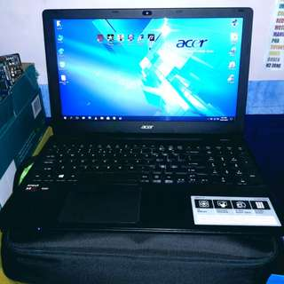 Acer aspire E15 dual gpu 8gb RAM upgraded