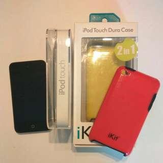 Ipod touch 8Gb + MAX Hifi + 兩個保護套