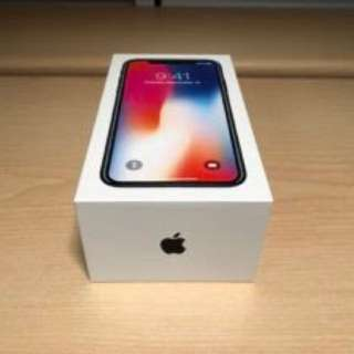 Brand New iPhoneX 256g Space Grey