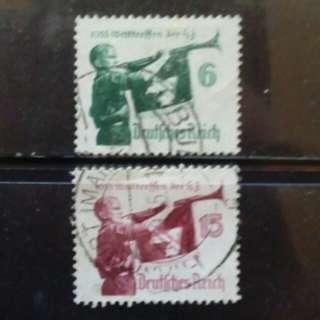 [lapyip1230] 納粹德國 1938年 Set Mint