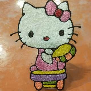 [SALE!] Hello Kitty DIY Foam Art/Snowbead