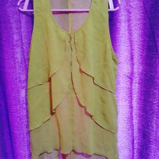Genevieve Gozum sleeveless top