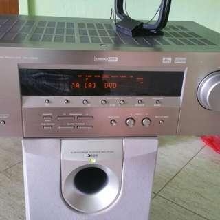 YAMAHA  RX-V359 SOUND AV RECEIVE (Note No Remote )