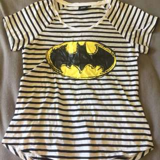 Batman stripe top