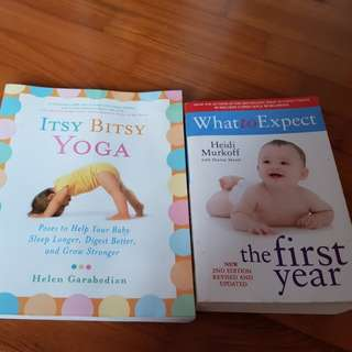 Books - Itsy Bitsy Yoga, What to Expect the first year