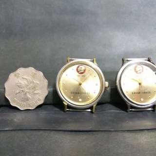 毛澤東100週年紀念錶2只(機械錶)