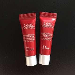 Dior One Essential Intense Skin Detoxifying Booster Serum 3ml