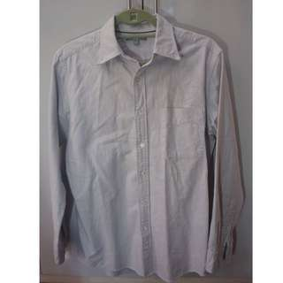 Uniqlo Light grey longsleeves shirt