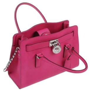 Mk Michael Kors hot pink bag