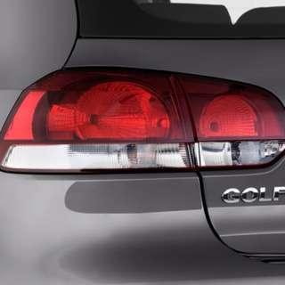 VW Golf 6 Original Tail Lights