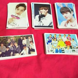 Wannaone Lomo Cards:)