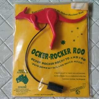 Ocker-Rocker Roo (rocks to & fro)