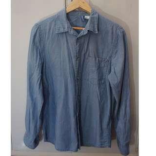 H & M Denim Longsleeves shirt