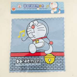 Doraemon cartoon spectacle glasses screen laptop cleaning cloth fabric