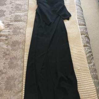 Keepsake the lable black maxi dress