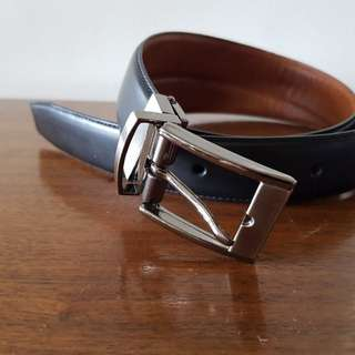 Colehaan reversible men's leather belt