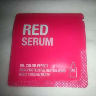 SKIN & LAB Dr. Color Effect Red Serum (+ FOC NORMAL MAIL)