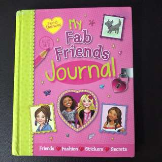 Brand New My Fab Friends Journal