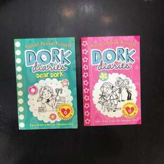 Dork Diaries $8 for 2 books