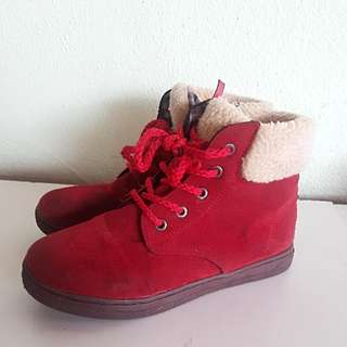 🔥SALE🔥Girl Red Boots