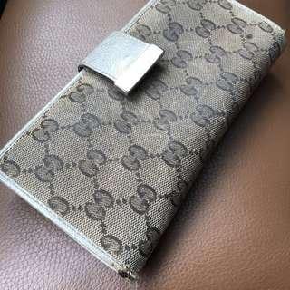 Authentic Gucci Long Wallet / Purse