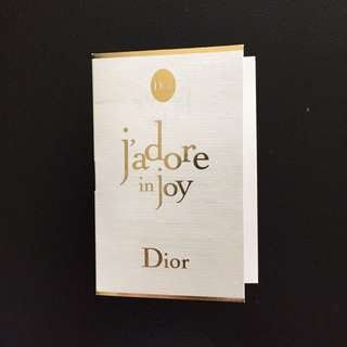 Dior J'adore In Joy Eau De Toilette Edt 1ml