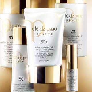 Cle de Peau UV protective cream