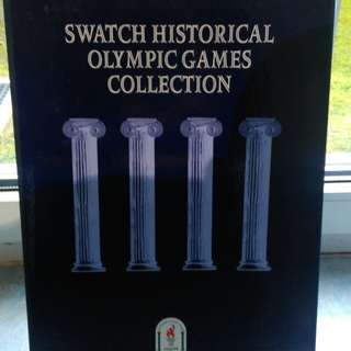 """Swatch """" Historic Olympic Games"""""""
