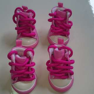 Pink Dog/Cat Shoes