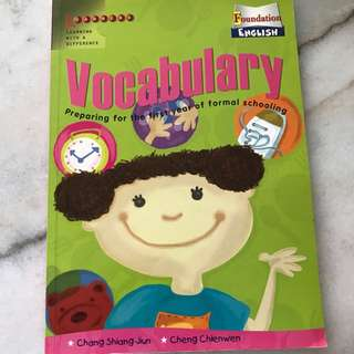 vocabulary exercise book