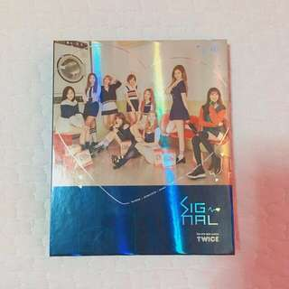 twice signal mini album