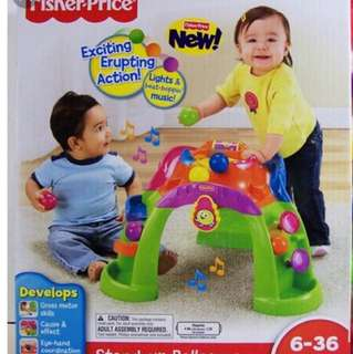 The Fisher-Price - Stand-Up Ballcano
