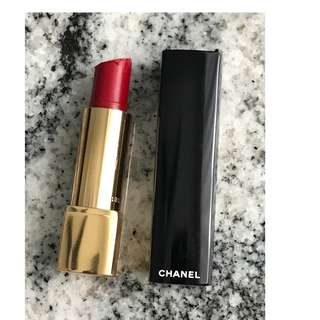 Chanel Rouge Allure Passion Red Lipstick 14